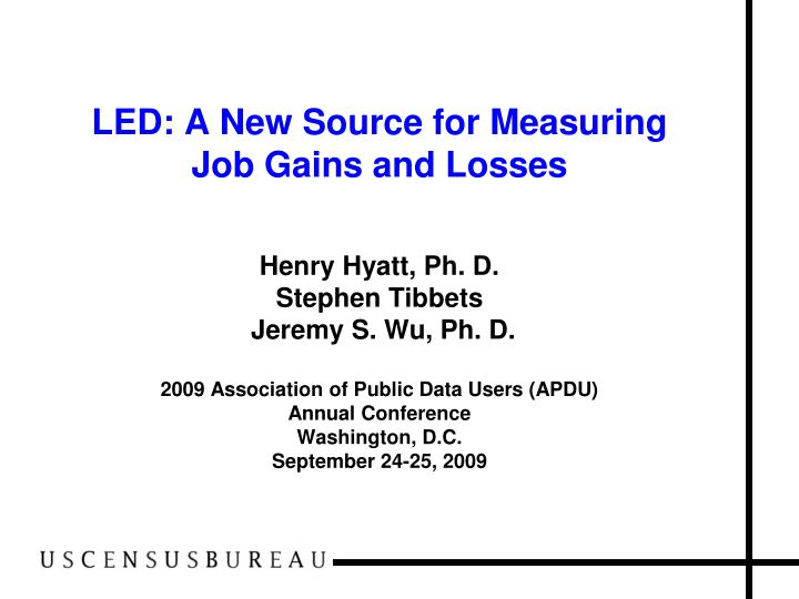 LED: A New Source for Measuring