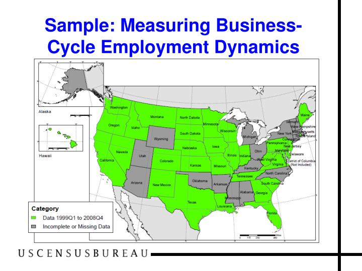 Sample: Measuring Business-Cycle Employment Dynamics