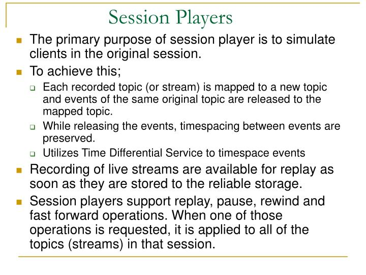 Session Players