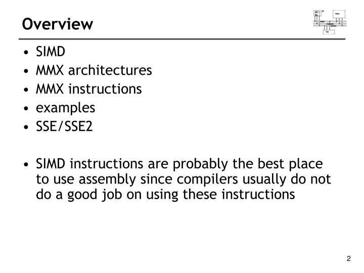 Ppt Intel Simd Architecture Powerpoint Presentation Id3215783