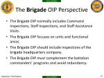 the brigade oip perspective
