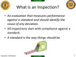 what is an inspection