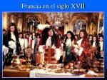 francia en el siglo xvii