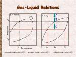 gas liquid relations