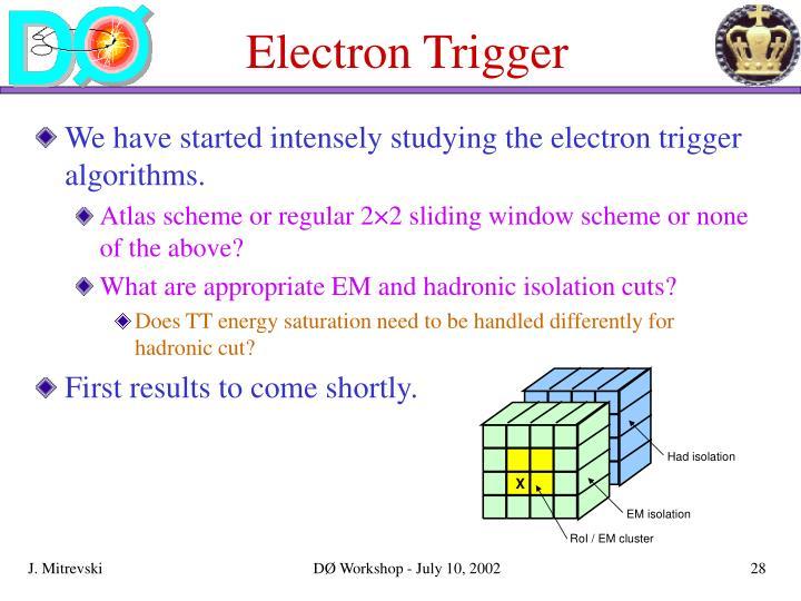 Electron Trigger