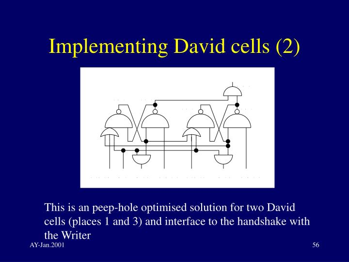 Implementing David cells (2)