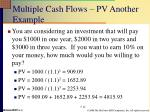 multiple cash flows pv another example