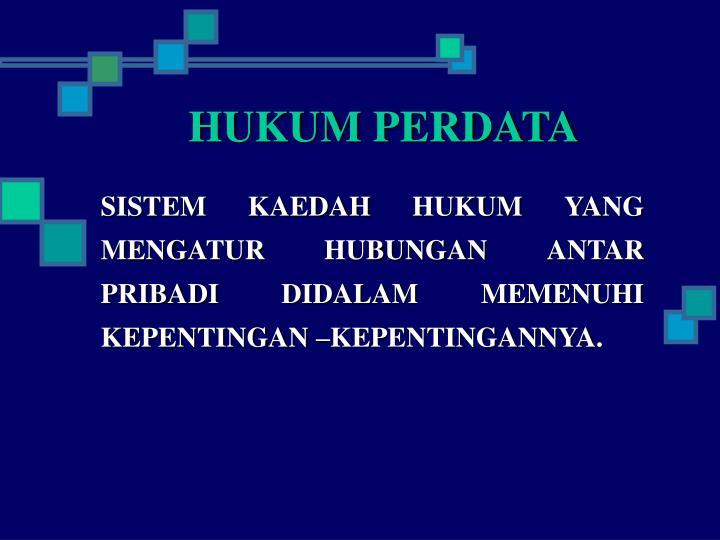 Hukum perdata1