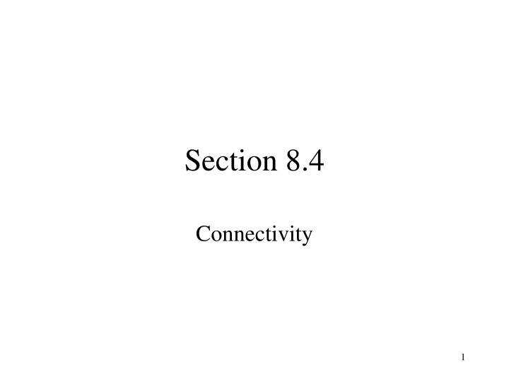 section 8 4