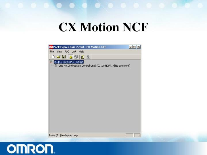 CX Motion NCF