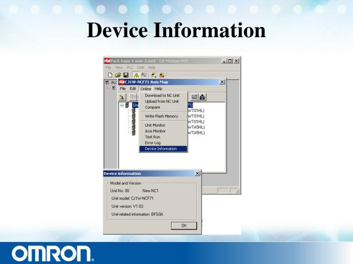 Device Information