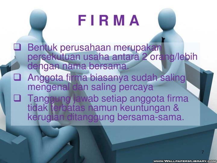 F I R M A