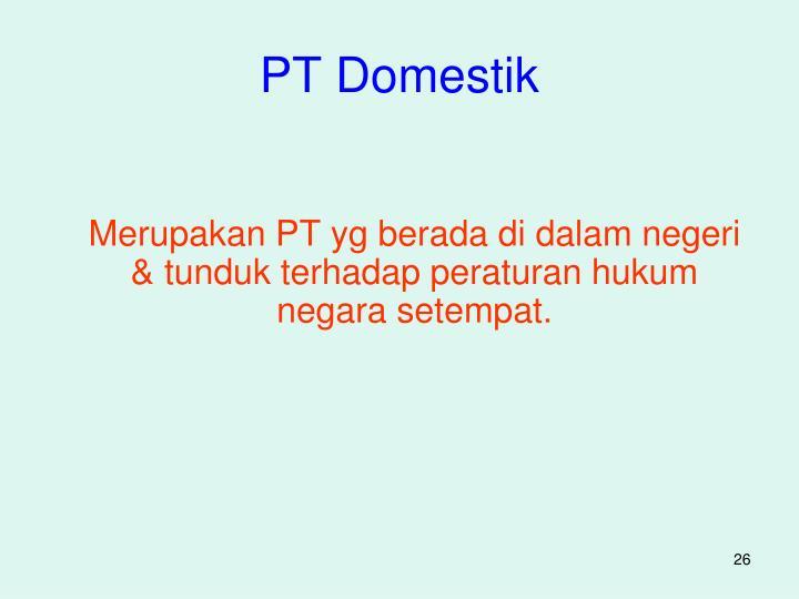 PT Domestik