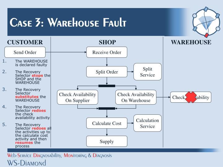 Case 3: Warehouse Fault
