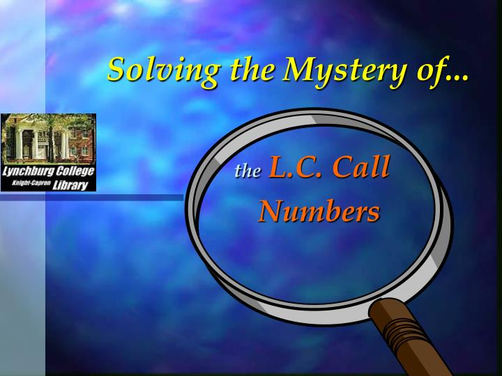 solving the mystery of n.