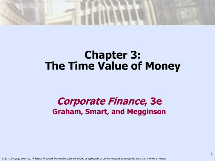 chapter 3 the time value of money n.