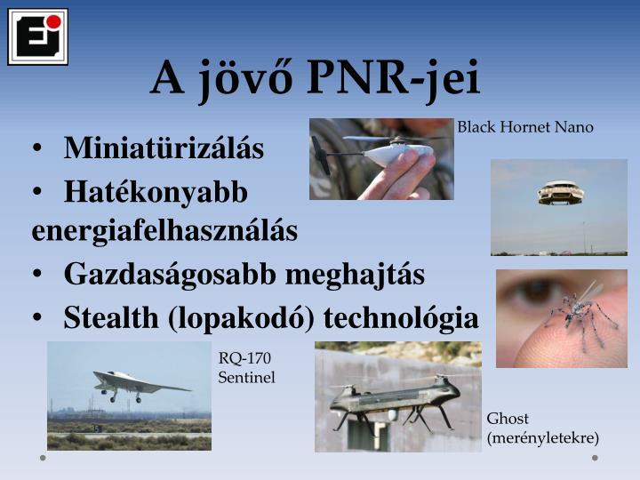 A jövő PNR-jei
