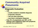 community acquired pneumonia12