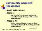 community acquired pneumonia15