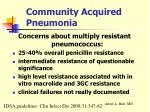 community acquired pneumonia23