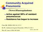 community acquired pneumonia25