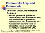 community acquired pneumonia26