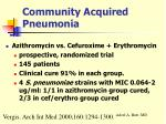community acquired pneumonia28