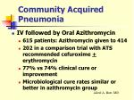 community acquired pneumonia29