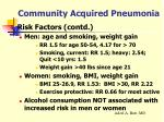 community acquired pneumonia6