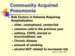 community acquired pneumonia7