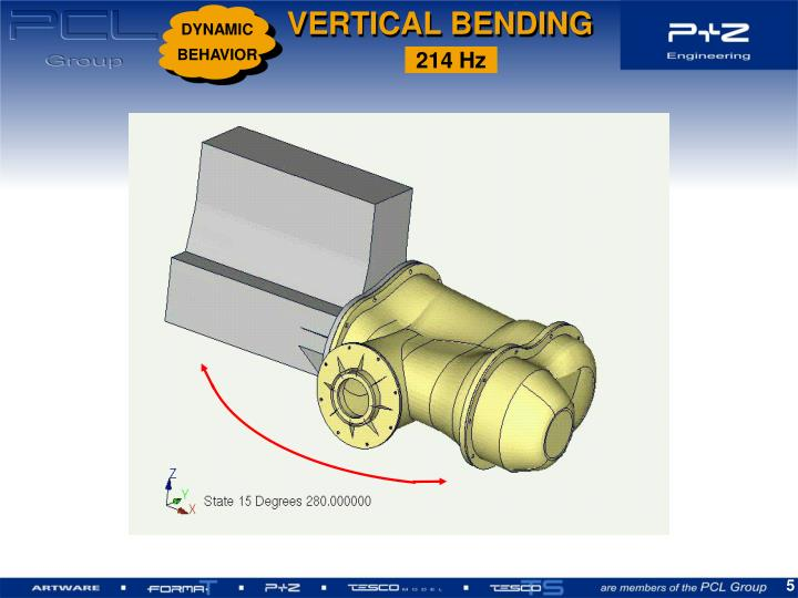 VERTICAL BENDING