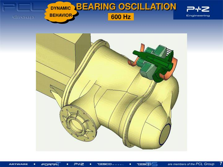 BEARING OSCILLATION