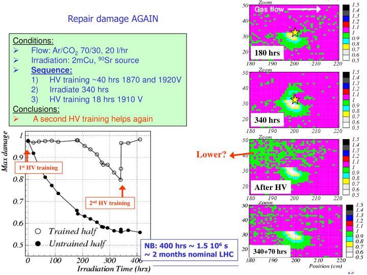 Repair damage AGAIN