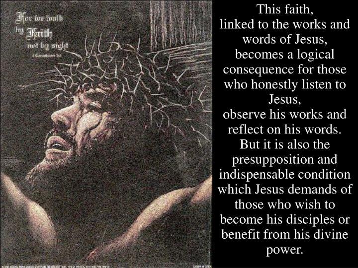 This faith,