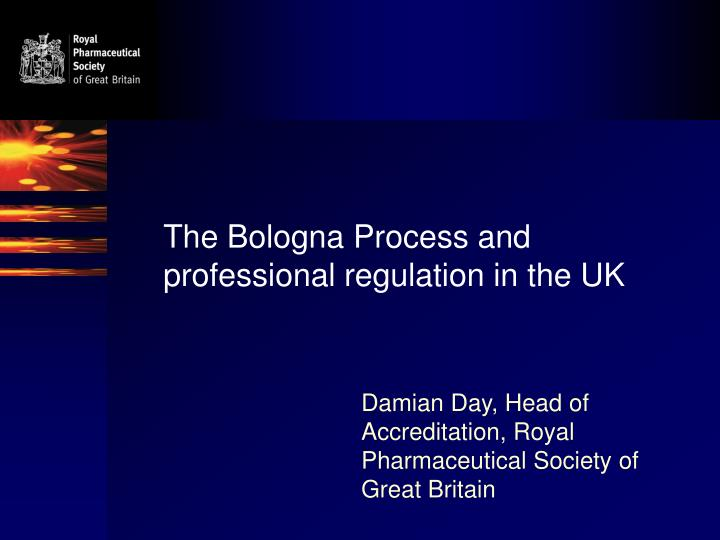 The bologna process and professional regulation in the uk