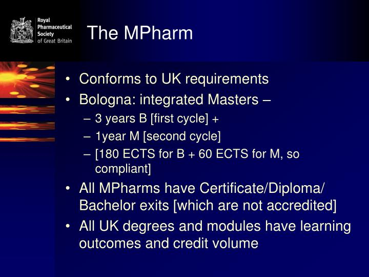 The MPharm