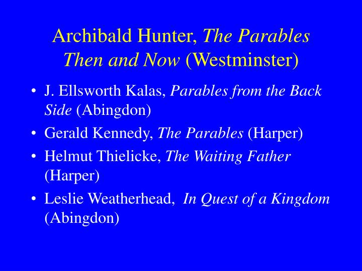 Archibald Hunter,