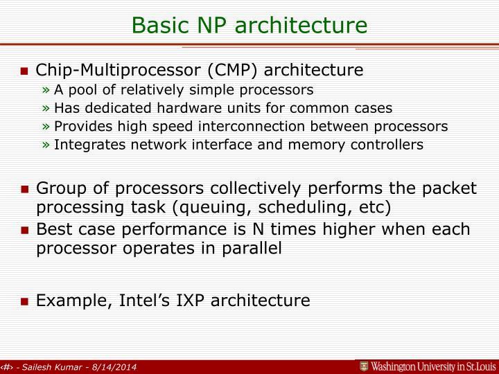 Basic np architecture