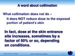 a word about collimation2
