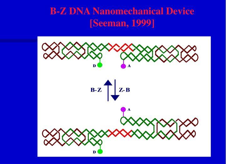 B-Z DNA Nanomechanical Device