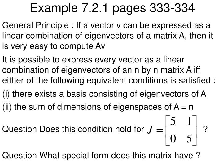 Example 7.2.1 pages 333-334