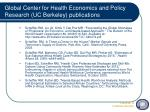 global center for health economics and policy research uc berkeley publications