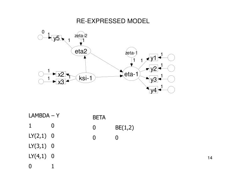 RE-EXPRESSED MODEL