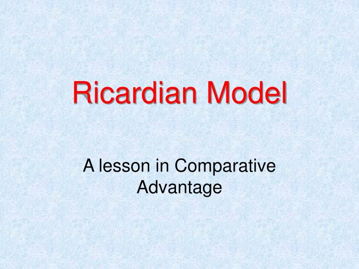 'compare and contrast mercantilist ricardian Connect to download get pdf internationalbusiness charles w l hill.