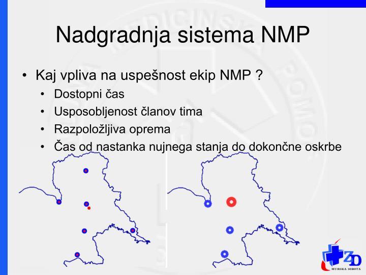 Nadgradnja sistema NMP