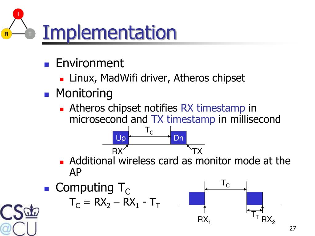 PPT - Call Admission Control in IEEE 802 11 Wireless Networks using