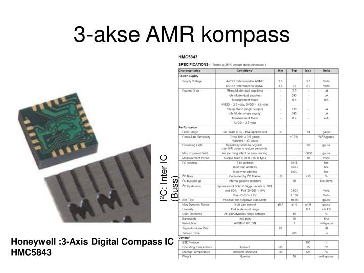 3-akse AMR kompass