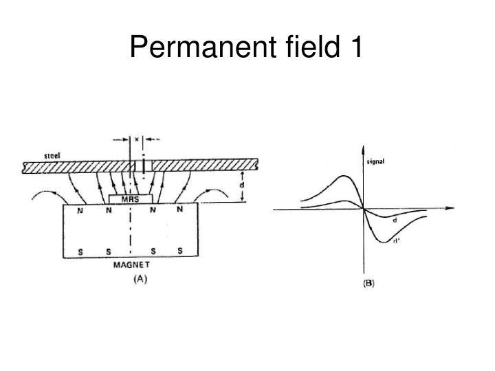 Permanent field 1