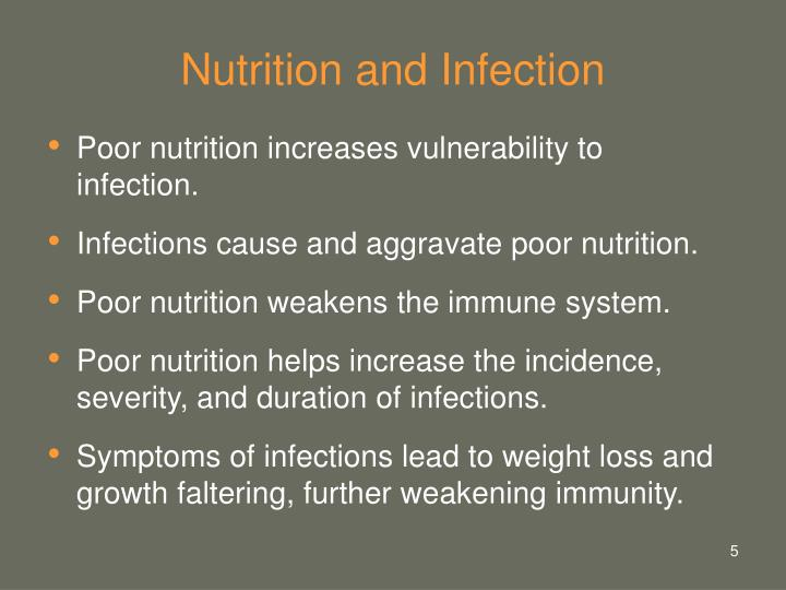 Nutrition and Infection