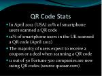 qr code stats